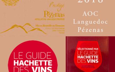 Guide Hachette Vin : 1 étoile pour le Prestige AOC Pézenas