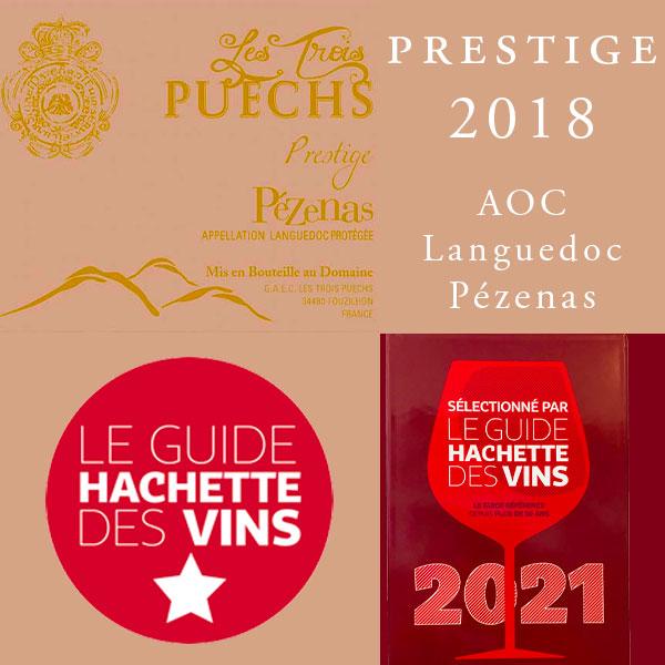 prestige rouge vin aop languedoc