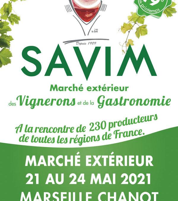 Salon SAVIM à Marseille du 21 au 24 Mai 2021