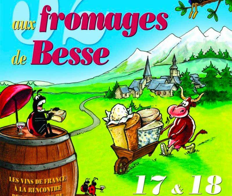 Foire Nationale aux Vins et aux Fromages de BESSE en Auvergne